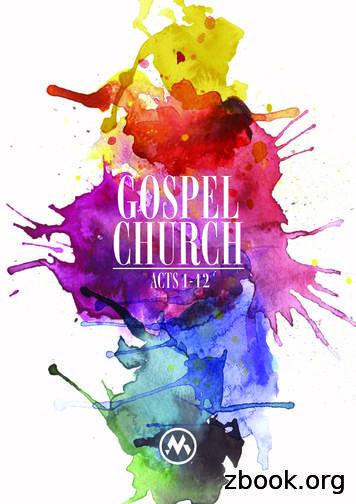 GOSPEL CHURCH - Mitchelton Presbyterian Church