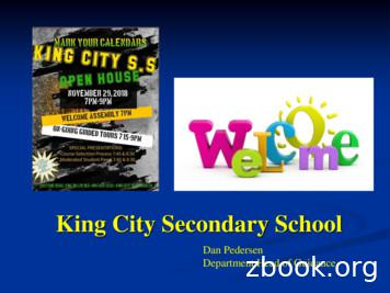 King City Secondary School - Pages - Home