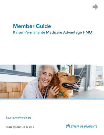 Member Guide - Medicare Advantage HMO Kaiser Permanente .
