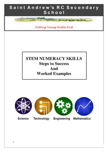 Practical numeracy - Steps to success and worked examples