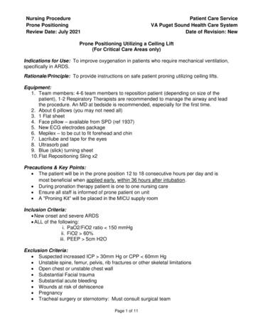 Nursing Procedure Patient Care Service Prone Positioning .