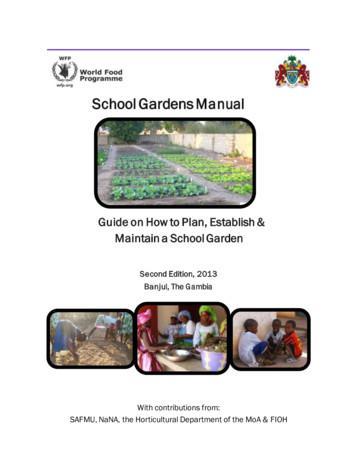 School Gardens Manual - UNESCO
