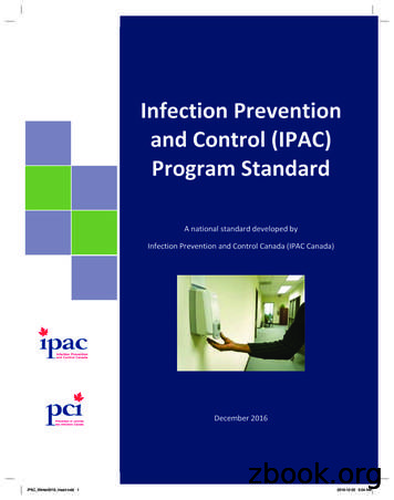 Infection Prevention and Control (IPAC) Program Standard