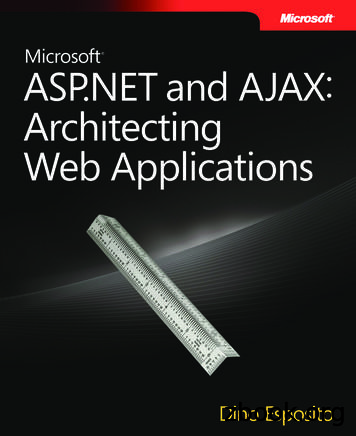 Microsoft ASP and AJAX: Architecting Web Applications