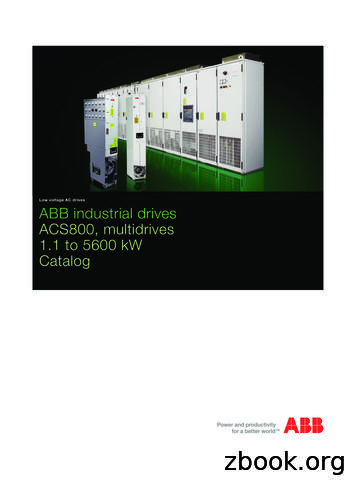 Low voltage AC drives ABB industrial drives ACS800 .