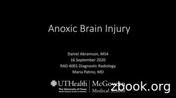 Anoxic Brain Injury - McGovern Medical School