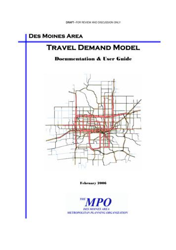 Travel Demand Model