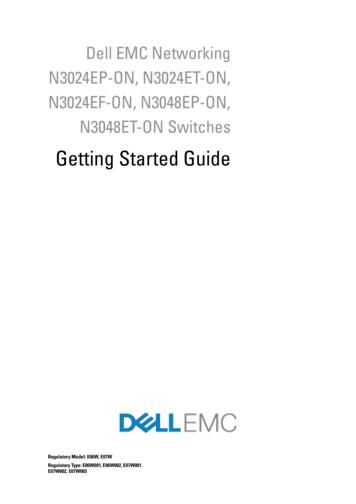 Getting Started Guide - Dell