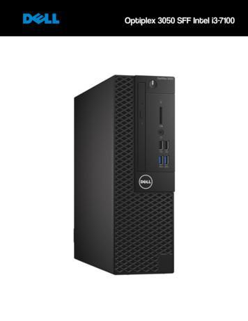 Intel i3-7100 Optiplex 3050 SFF - Datamicro