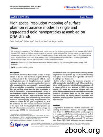 NANO EXPRESS Open Access High spatial resolution mapping .