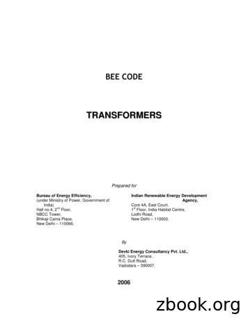 BEE CODE -TRANSFORMERS - NREDCAP
