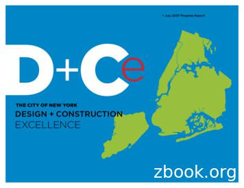 THE CITY OF NEW YORK DESIGN CONSTRUCTION EXCELLENCE