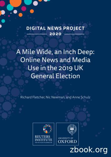 A Mile Wide, an Inch Deep: Online News and Media Use in .