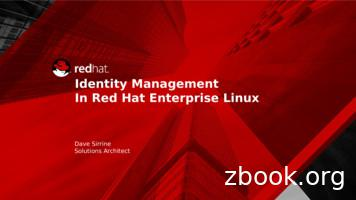 Identity Management In Red Hat Enterprise Linux