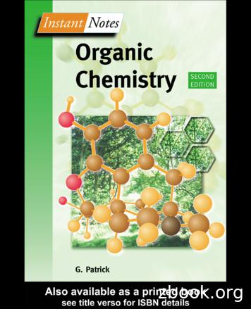 Organic Chemistry - Rgm Aisyah's Blog