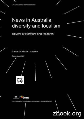 News in Australia: diversity and localism