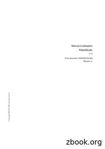 5.13 ID du document: 3HAC032104-004 Révision: C - ABB