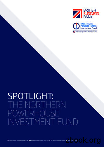 SPOTLIGHT: THE NORTHERN POWERHOUSE INVESTMENT FUND