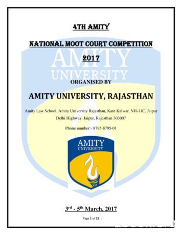AMITY UNIVERSITY, RAJASTHAN