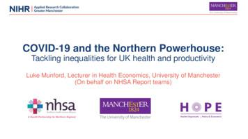 COVID-19 and the Northern Powerhouse