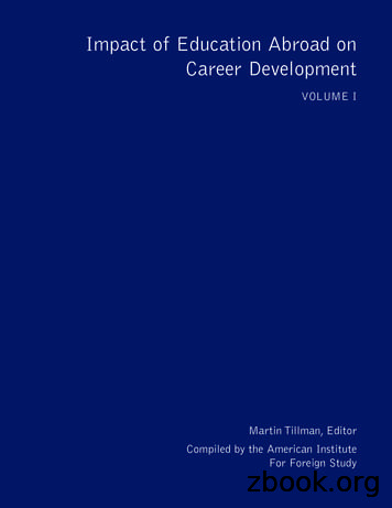 Impact of Education Abroad on Career Development