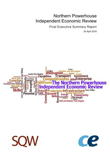 Northern Powerhouse Independent Economic Review