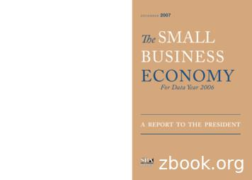 2007 The Small BuSineSS