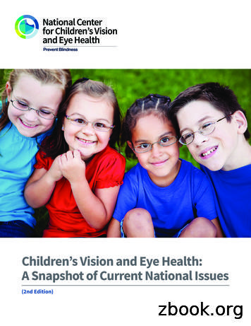 Children's Vision and Eye Health: A Snapshot of Current .