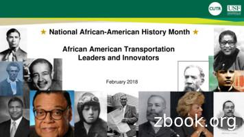 National African-American History Month African American .