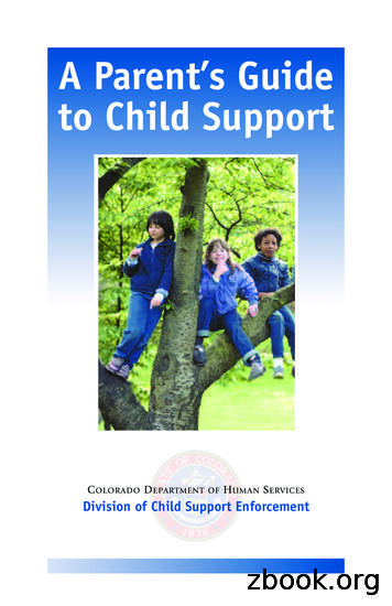A Parent's Guide to Child Support - CO Courts