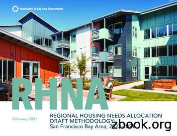 REGIONAL HOUSING NEEDS ALLOCATION February 2021 DRAFT .