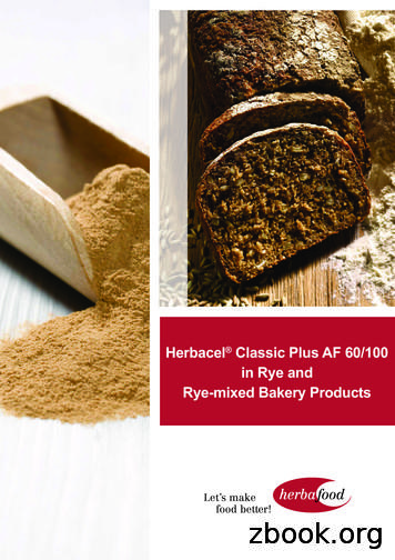 Herbacel Classic Plus AF 60/100 in Rye and Rye-mixed .