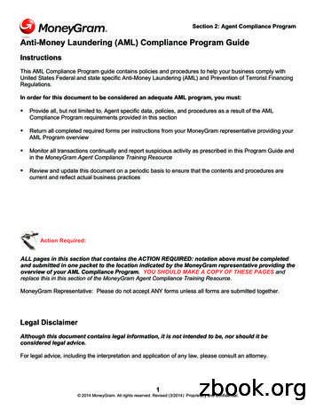 Anti-Money Laundering (AML) Compliance Program Guide