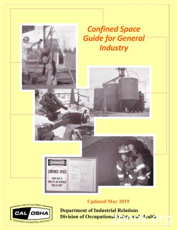 Confined Space Guide for General Industry