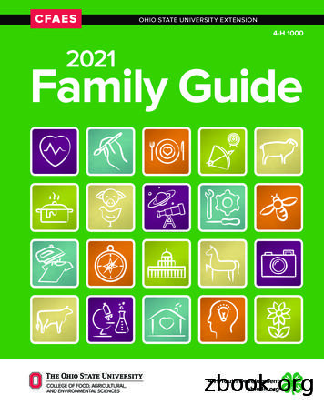 2021 Family Guide - Ohio 4-H