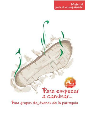 Para empezar a caminar - CATHOLIC ACTION FORUM