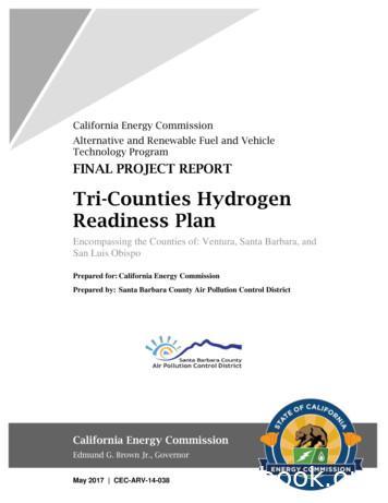Tri-Counties Hydrogen - Santa Barbara County Air Pollution .
