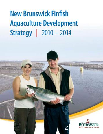 New Brunswick Finfish Aquaculture Development
