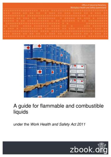 A guide for flammable and combustible liquids