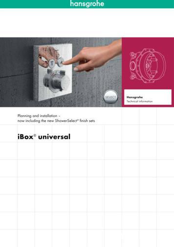 iBox universal - hansgrohe