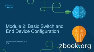 Chapter 2: Basic Switch and End Device Configuration