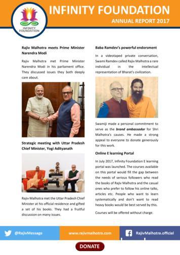 Rajiv Malhotra meets Prime Minister Baba Ramdev's powerful .