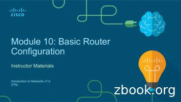 Module 10: Basic Router Configuration