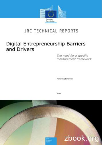 Digital Entrepreneurship Barriers and Drivers