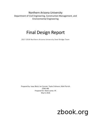 Final Design Report - The College of Engineering .