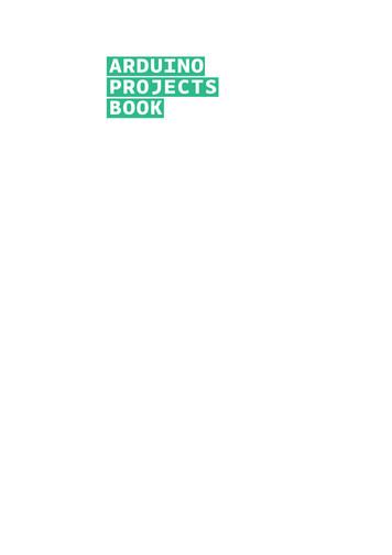 Arduino Projects Book - WordPress