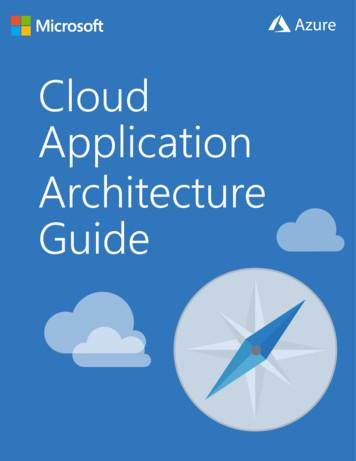 Cloud Application Architecture Guide