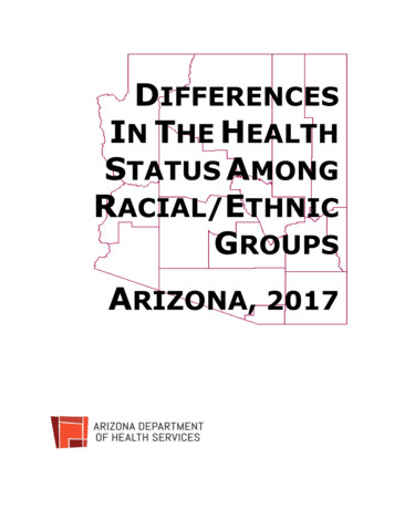 DIFFERENCES INTHE HEALTH STATUS AMONG RACIAL/ETHNIC GROUPS