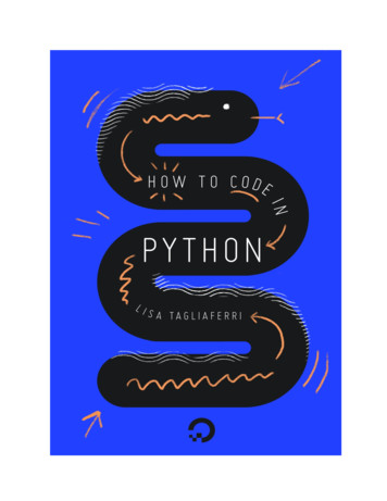 How To Code in Python 3 - DigitalOcean