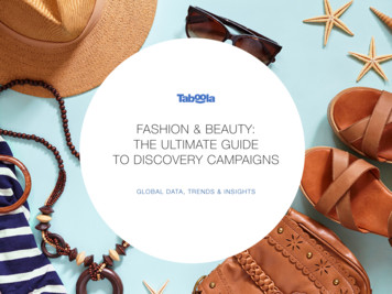 FASHION & BEAUTY: THE ULTIMATE GUIDE TO DISCOVERY CAMPAIGNS
